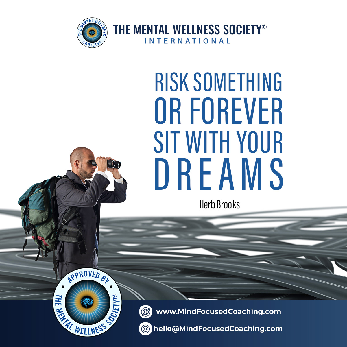 Risk Something or Forever Sit with Your dreams